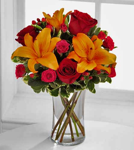 Natures wonders florist send flowers white rock local florist happy thoughts bouquet mightylinksfo